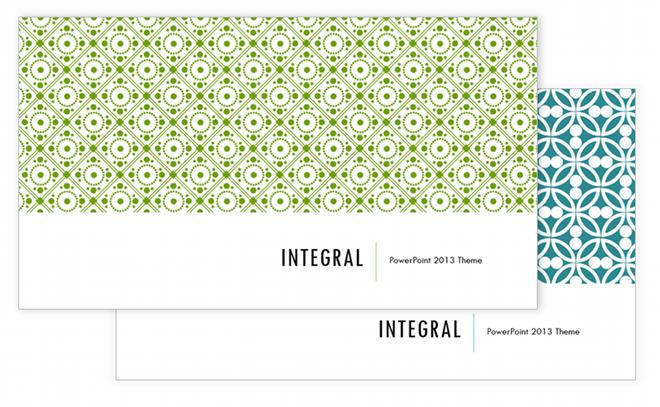 Integral Theme Family PowerPoint 2013