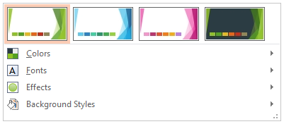 Designs bearbeiten PowerPoint 2013