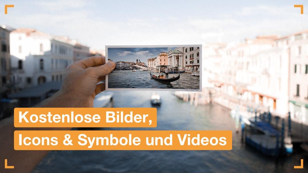 Kostenlose Bilder, Icons & Symbole und Videos